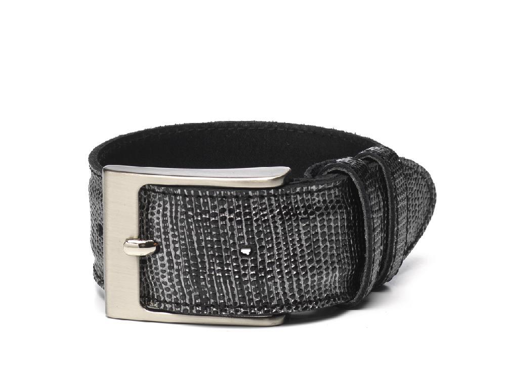 Belt Black Silver - Berkelmans