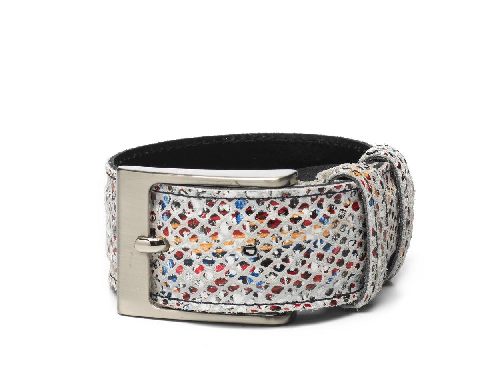 Belt Multi Color White - Berkelmans