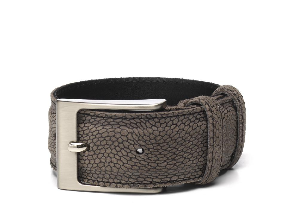 Belt Grey Print - Berkelmans