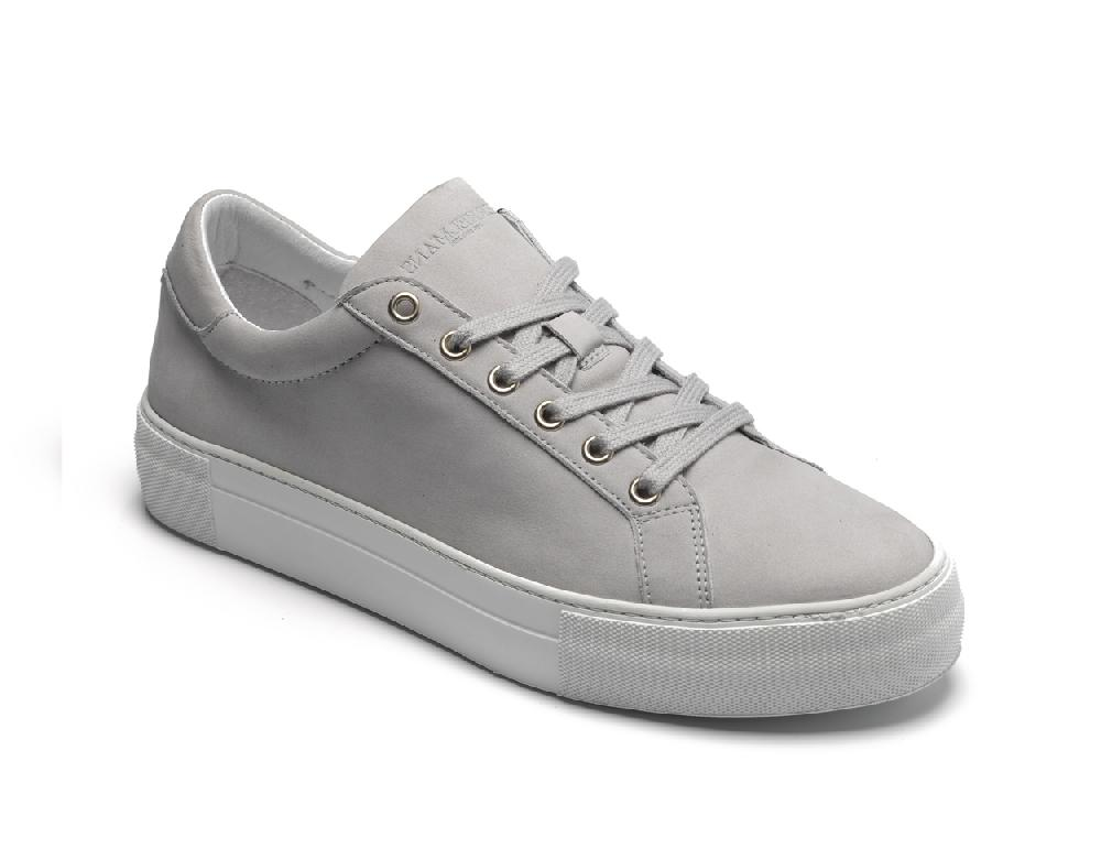 Seca Light Grey Nubuck - Berkelmans